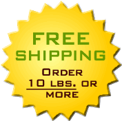 Free Shipping on 10 lbs. or more